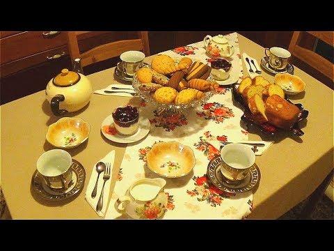 Повседневная сервировка стола к завтраку