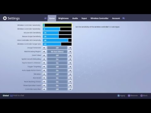 fortnite console sensitivity bug youtube https www youtube com not sure when it started - fortnite pc mit controller