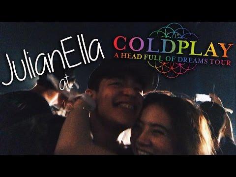 [VLOG] JulianElla at Coldplay Manila
