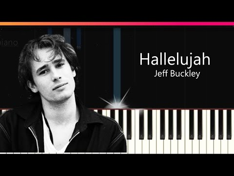 """Jeff Buckley - """"Hallelujah"""" Piano Tutorial - Chords - How To Play - Cover"""