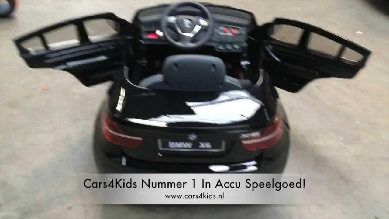 Bmw X6 Accu Auto Bmw Elektrische Accu Speelgoedauto Youtube