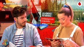 Lola Índigo y Roi comentan juntos Eurovisión #LolaÍndigoEnyu