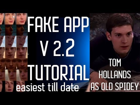 Fake App 2 2 Tutorial. installation, usage guide 101(totally simplified ,model folder included)