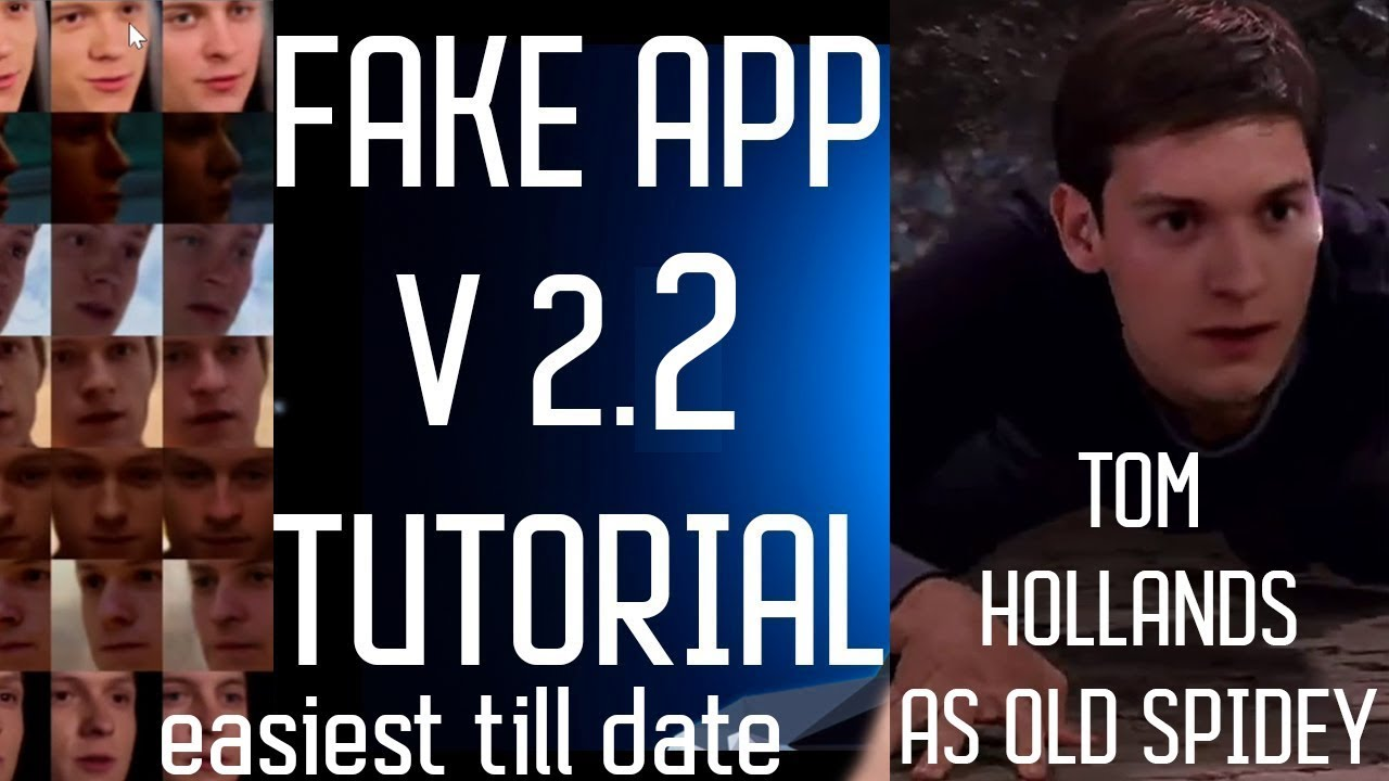 deepfakes guide:Fake App 2 2 Tutorial  installation(totally simplified  ,model folder included)