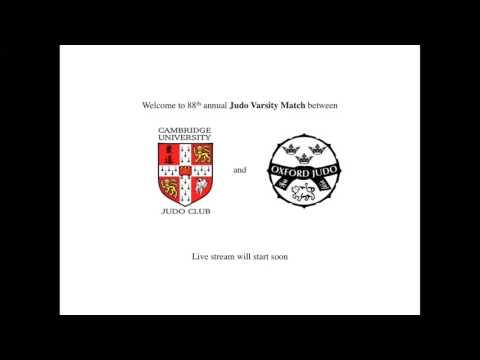 Judo Varsity 2017: Cambridge vs. Oxford