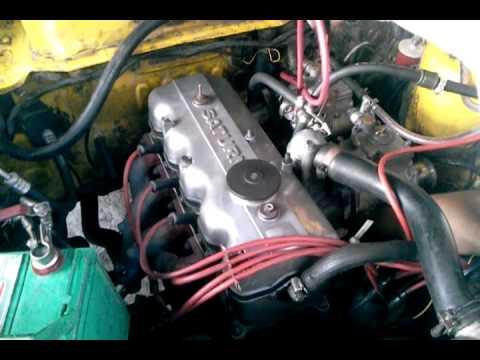 1973 Dodge Colt Dual Weber 40 Carburetor After Carb