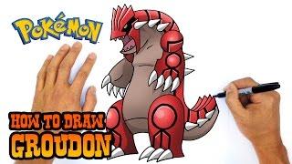 How to Draw Groudon   Pokemon