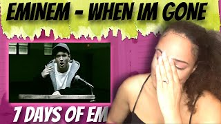 Eminem - When I'm Gone (Reaction) | 7 DAYS OF EM