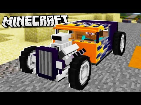IF HOT WHEELS CARS were in Minecraft!