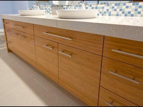 Bamboo Bathroom Vanity