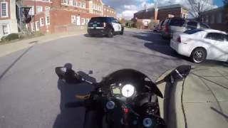 COP vs BIKER W/ Concealed Carry