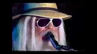 LEON RUSSELL  (Live 80s) - LADY BLUE (w/ lyrics)