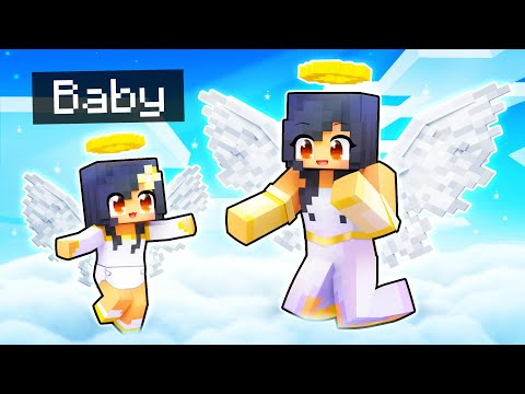 Baby ANGEL Gets Her Wings In Minecraft!
