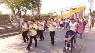 """Empalme Escobedo Guanajuato.  """" La patrona La Virgen Maria Auxiliadora""""."""