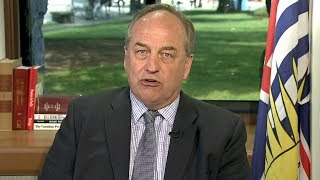 B.C. Green Party Leader Andrew Weaver says Prime Minster Trudeau 'i...