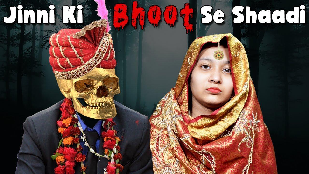 Jinni Ki Bhoot Se Shaadi   Family Comedy Story   Moral Story   Cute Sisters