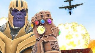 Thanos' INFINITY GAUNTLET Challenges