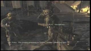 [GOD FATHER and OVERLORD ARE MAD] Nuclear Explosion scene -Modern Warfare 2 Gameplay