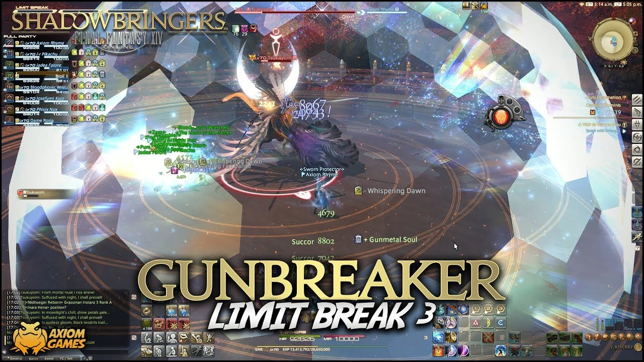 FFXIV: Shadowbringers - Gunbreaker Limited Break 3