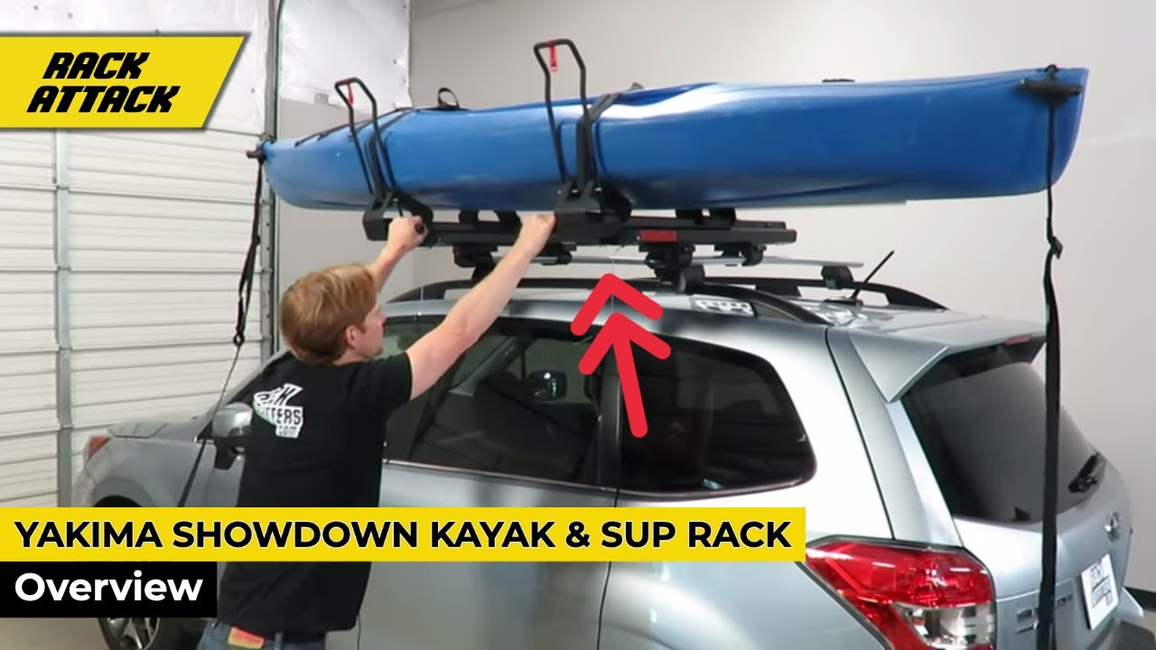 Yakima Roof Racks >> Yakima ShowDown Kayak and SUP Lift Assist Roof Rack ...