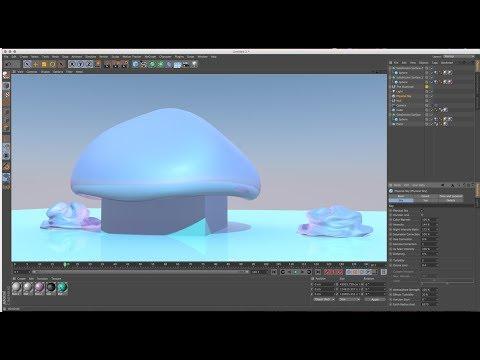 Soft Body Simulation Workflow in Cinema 4D R16 Tutorial