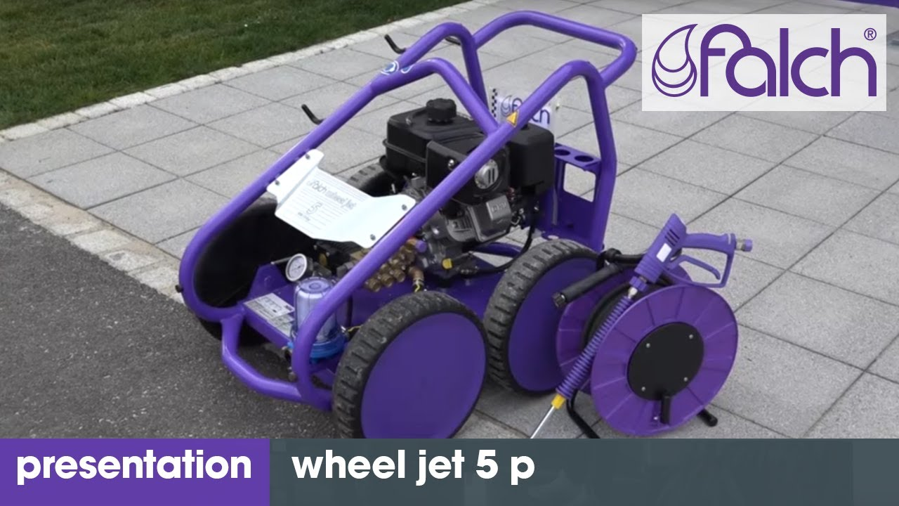 hochdruckreiniger - falch wheel jet 5 p  - www.falch.com