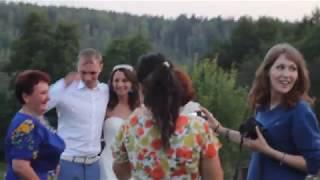 делаем фото с мамой Олега и т. Алей   наша свадьба