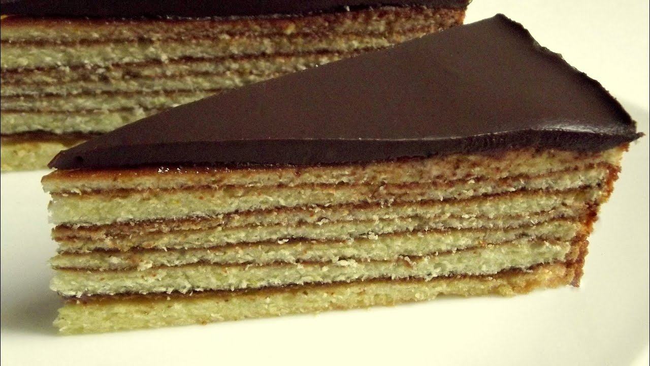 Baumkuchen Rezept – German Baumkuchen cake recipe - YouTube