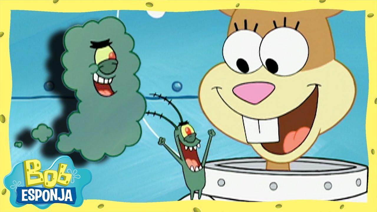 Plankton, el gaseoso | Bob Esponja en Español