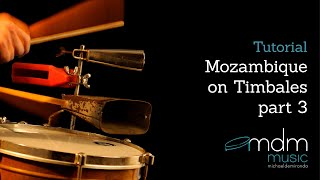 How to play mozambique on timbales part 3 Free lesson