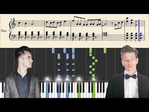 Panic! At The Disco & Fun.: C'mon - Piano Tutorial + SHEETS