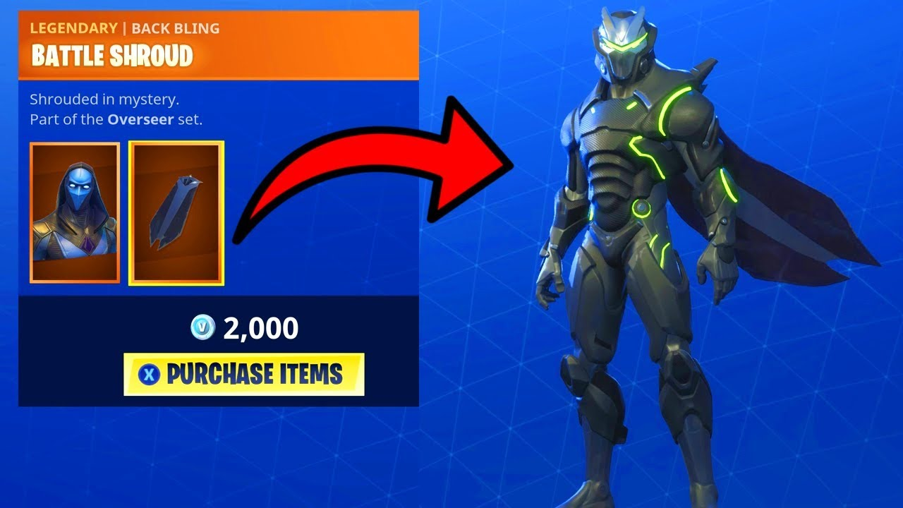 Fortnite Cape fortnite new omen cape back bling on all my outfits - youtube