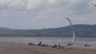 KIte Buggy Race Celtic Challenge 2013 - BENONE