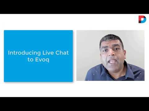 Live Chat In Evoq!