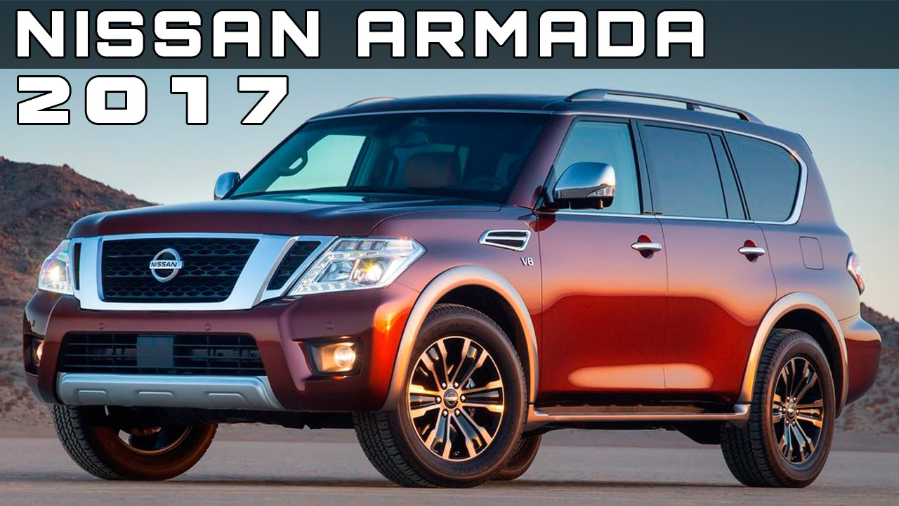 2017 Nissan Armada Review Rendered Price Specs Release Date You