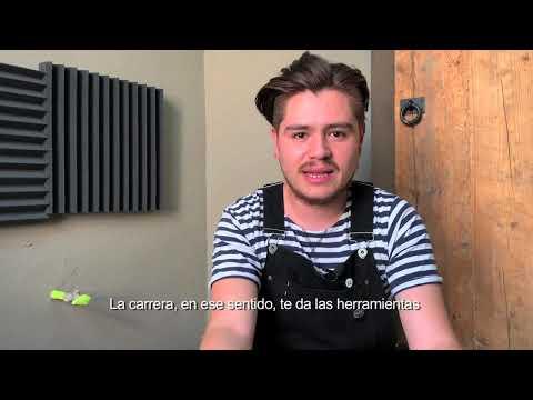 Marco Villavicencio.Egresado de la EDINBA