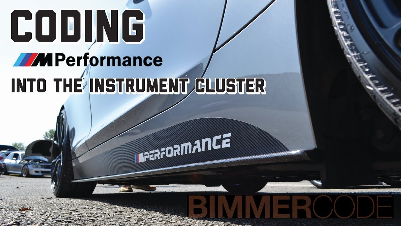 BIMMERCODE: CODING THE M PERFORMANCE LOGO INTO THE INSTRUMENT CLUSTER