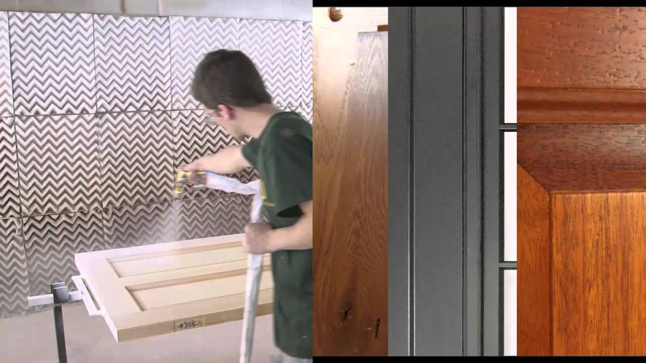 Fine Finish Solutions at Upstate Door & Fine Finish Solutions at Upstate Door - YouTube
