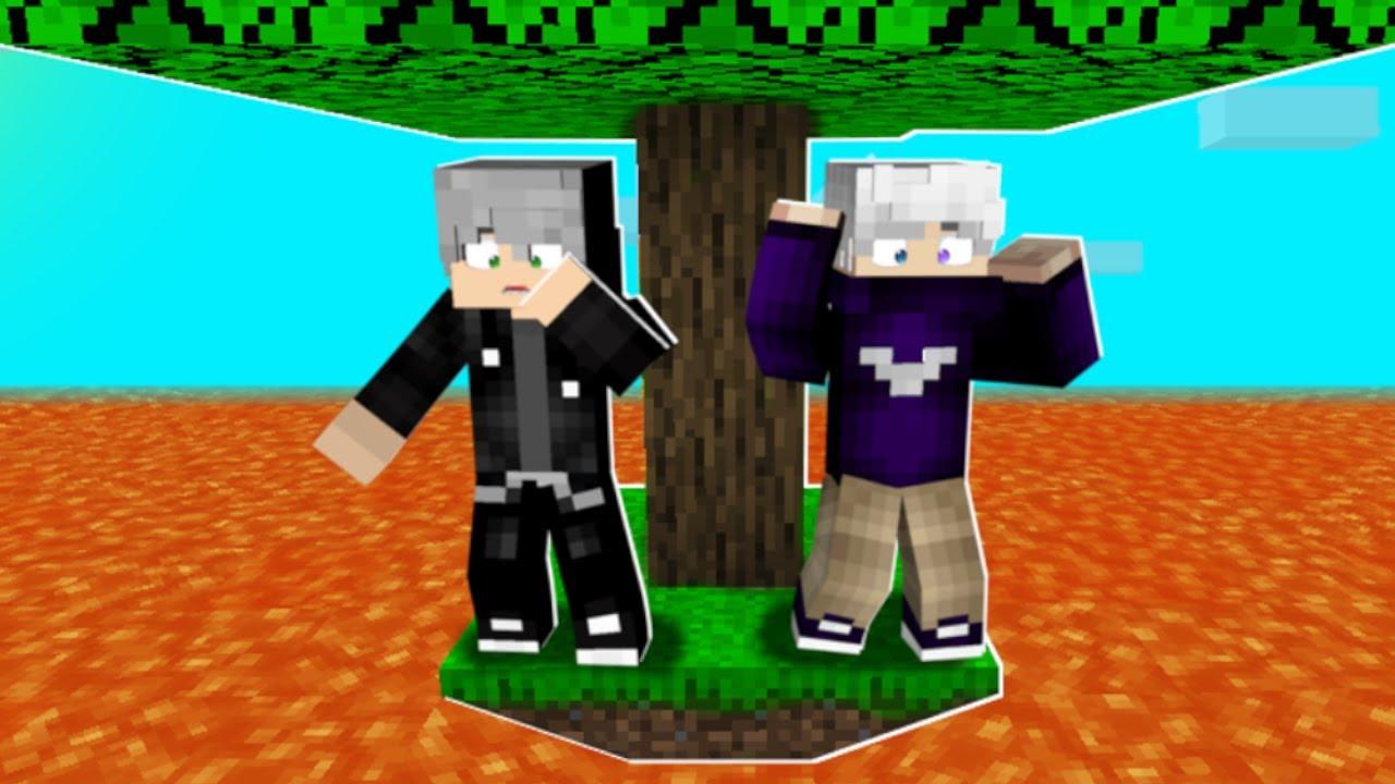 🥵 Minecraft PERO la lava SUBE CADA 10 SEGUNDOS 🔥🤣