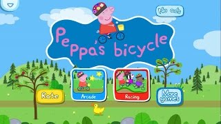 Peppa Pig bicycle App Gameplay