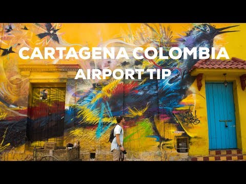 How To Travel From Cartagena Airport (Rafael Núñez International Airport)