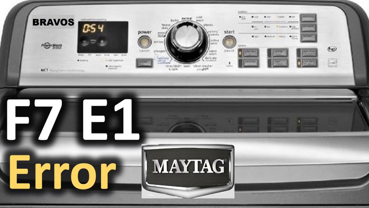 Maytag Bravos Top Load Washer Washing Machine