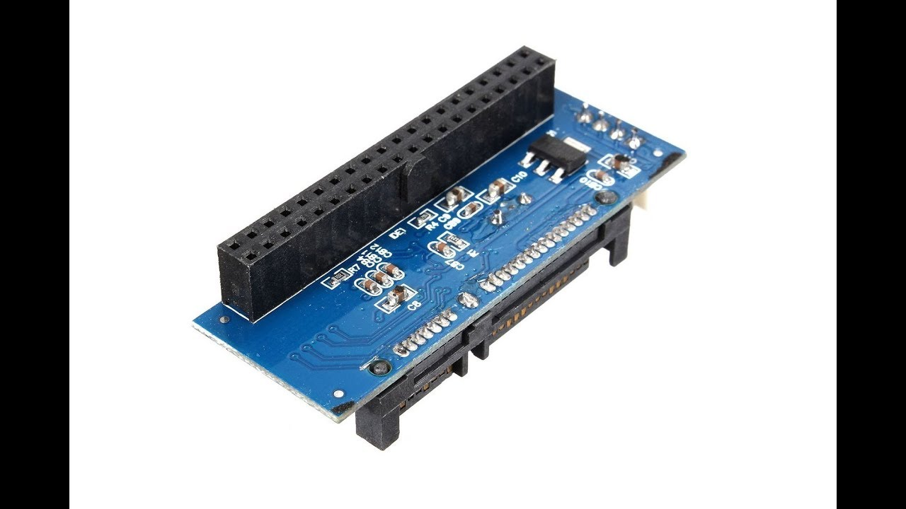 My Sodial Converter 40-Pin IDE SATA To 22-Pin Male Adapter PATA SATA on