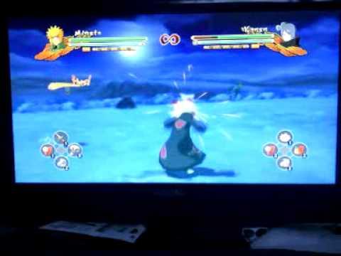 Naruto revolution air dashing
