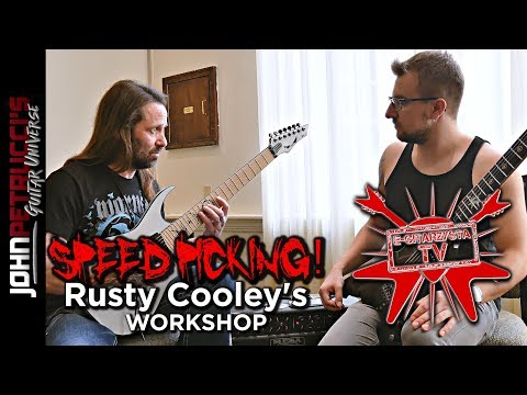 INTERVIEW/WORKSHOP with RUSTY COOLEY by JAROSŁAW NYCKOWSKI - e-gitarzystaTV