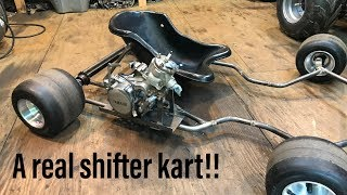 Building a YZ85 shifter kart part 1