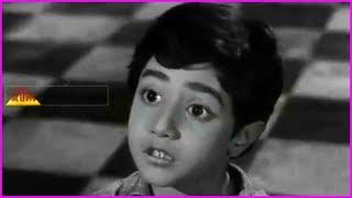 Cute Little Kid Best Acting Scenes - Mooga Nomu Telugu Movie Scenes | ANR