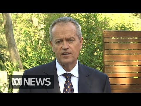 "Federal election: Bill Shorten says Australians face ""a real and vital choice"" 