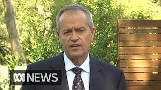 Federal election: Bill Shorten says Australians face