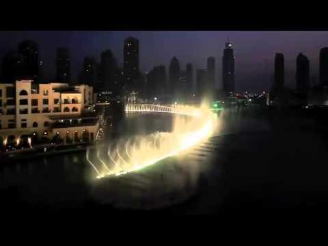 Поющие фонтаны в дубае видео ты знаешь как хочется жить